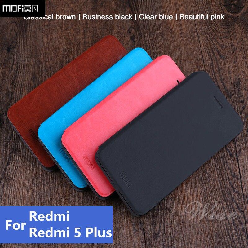 קייס Mofi לxiaomi redmi 5 גבוהה בסגנון להעיף ספר נרתיק מקרה טלפון נייד באיכות מקרה Xiaomi Redmi 5 בתוספת בית