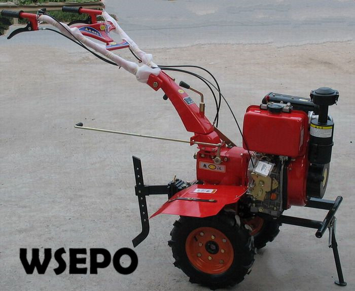 OEM Quality&Factory Direct Supply! 188F 11HP 7.5KW Diesel Engine Powered 1WG4.0 135FC Farm Cultivator,Garden Mini Rotary Tiller