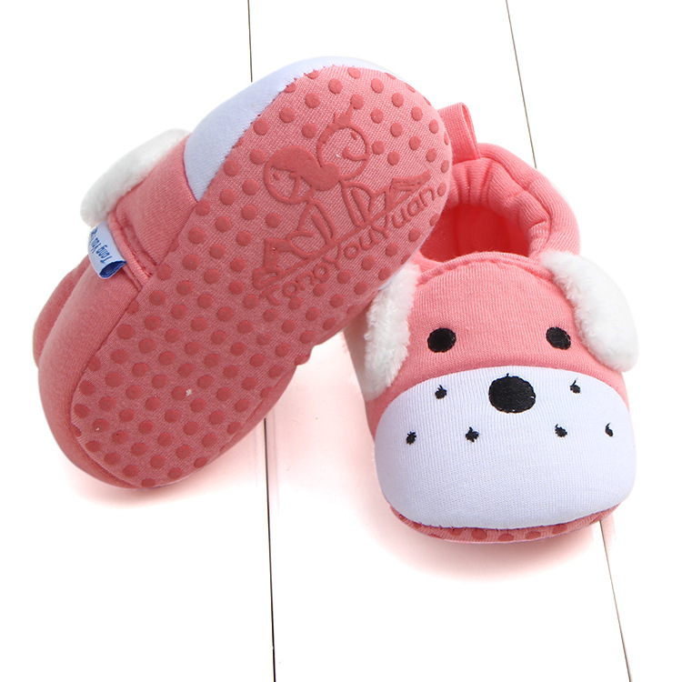 First Walkers Baby Shoes Cotton Anti-slip Booties Baby Girl Boy Shoes Animal Cartoon Newborn Slippers Footwear Booties Kids Gifts (10)