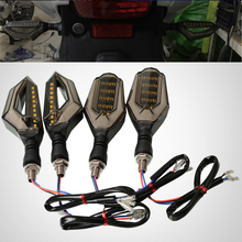 For Aprilia TUONO V4R/Factory / R V4 1100RR/ FACTORY Turn Signal Lamp Led Universal flicker Motorcycle Blinker Light