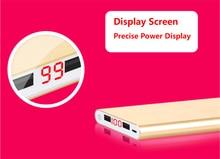 High Capacity Power Bank 20000mAh 2 usb powerbank portable charger external Battery 20000 mAH mobile phone charger Backup powers