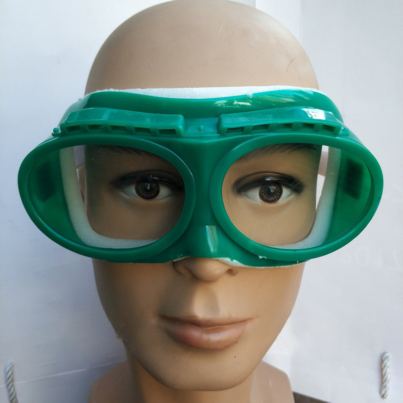 New Goggles With Sponge Windproof Shockproof Anti Splashing Dust Safety Glasses Working Eye Protection Eyewear Safety Articles