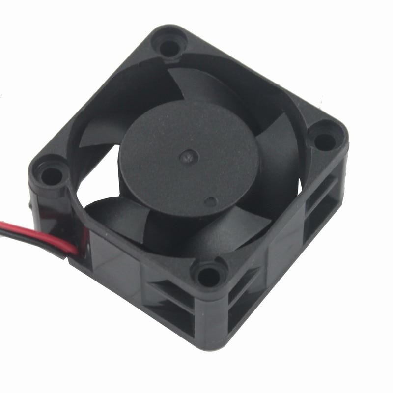 Gdstime 2 шт. 24 в 12 В 5 в 40 мм x 10 мм маленький осевой кулер 4 см 2Pin шарикоподшипник DC бесщеточный вентилятор охлаждения 40x40x10 мм 4010 3Pin