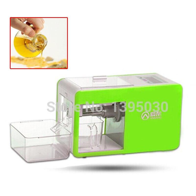 Domotique pressoir à huile machine en acier inoxydable expulseur d'huile pour olive Huile de soja Presseurs approprié pour noyer/D'arachide