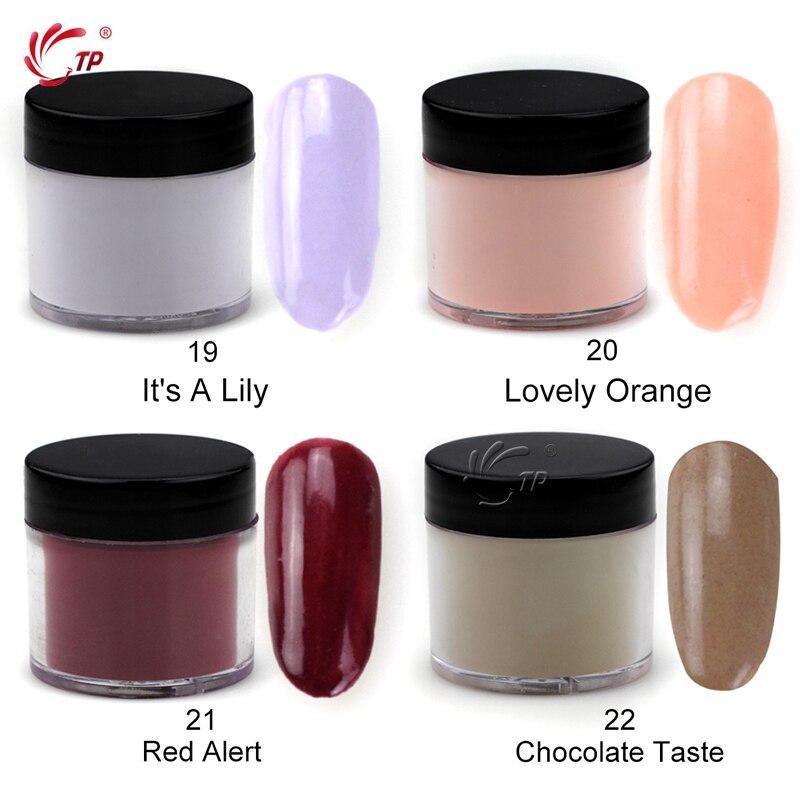 Buy 28g Box 22 Colors Dipping Powder No Lamp Cure Nails Dip