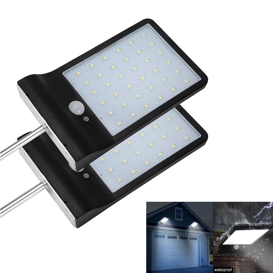 450LM 36 LED Solar light Outdoor Garden Security Led Powered Panel Lamp Wall Lampada PIR Motion Sensor Waterproof IP65