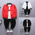 3pcs coat+pants+shortNew spring autumn outwear children suit boys clothing set denim fashion baby set kids sport suit