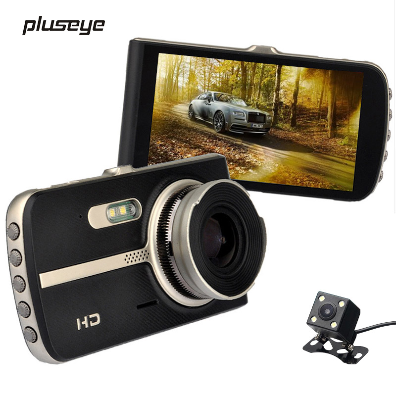 Night Vision Car DVR Novatek 96655 Full HD Car Video Recorder 4.0 inch 1080P Video Registrator G-sensor Car Cameras Dual Lens