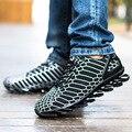 2017 dos homens novos ourdoor calçados esportivos respirável sapatos de couro de corrida lâmina leve sapatilhas homens tamanho 39-44 (09)