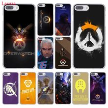 Lavaza Overwatch OW Permainan Keras Ponsel Case untuk Apple iPhone XR X Max X 8 7 6 6 S PLUS 5 5 S SE 5C 4 S 10 Cover 7 Plus 8 PLUS(China)