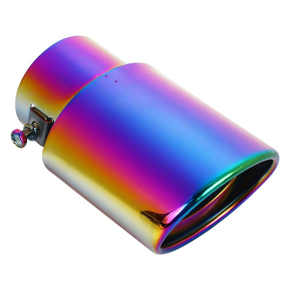 Автомобильная выхлопная труба из нержавеющей стали, прямая Автомобильная выхлопная труба, аксессуары для глушителя