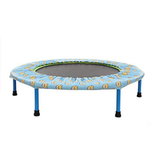 indoor fitness equipment trampoline 2016 round 40inch foldable fitness trampoline trampoline for. Black Bedroom Furniture Sets. Home Design Ideas