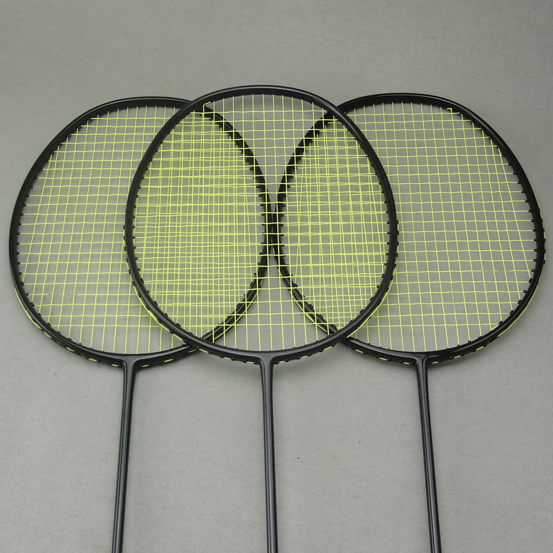 5U 30lbs Woven Carbon Fiber National Team Badminton Racket 3 Colors