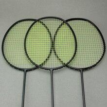 5U 30lbs carbon fiber national team badminton racket 3 colors