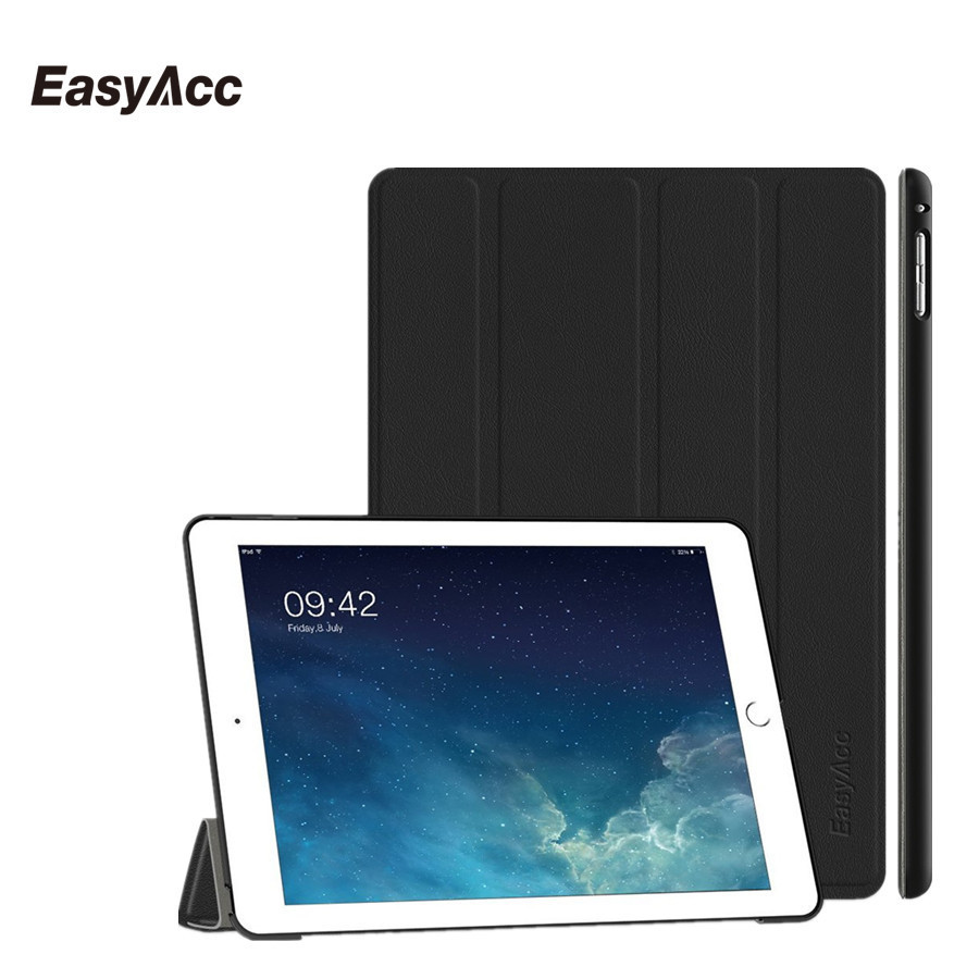 Easyacc Case for iPad Air 2 , Ultra Slim Premium PU Leather Smart Case with Auto Sleep Wake-up / Stand Function For iPad 6 футболка wearcraft premium slim fit printio шварц