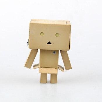 10cm Mini ensamblado modelo robot que se transforma Danbo de dibujos animados colección creativa Anime figura de acción de deformación muñeca nueva