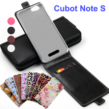 Classic Luxury Advanced Top Leather Flip Colorful Leather Case For Cubot Note S Phone Cases Cover With Card Slot In Stock NoteS