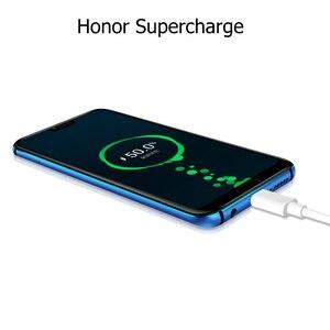 Image 4 - Version mondiale Honor 10 19:9 plein écran 5.84 pouces AI caméra Octa Core empreinte digitale ID NFC android 8.1