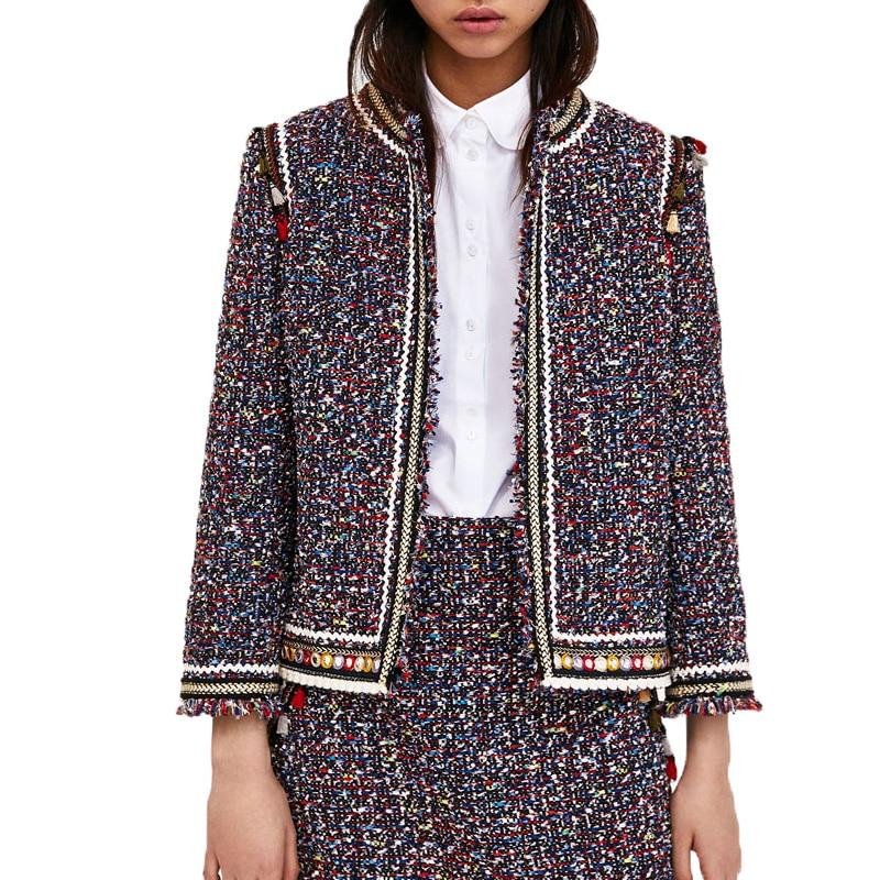 Lunga Brown 2018 Cappotto Donna Manica Casual Twill Abbigliamento Donne Primavera Cardigan Nappa Giacca fq4xaTfwv