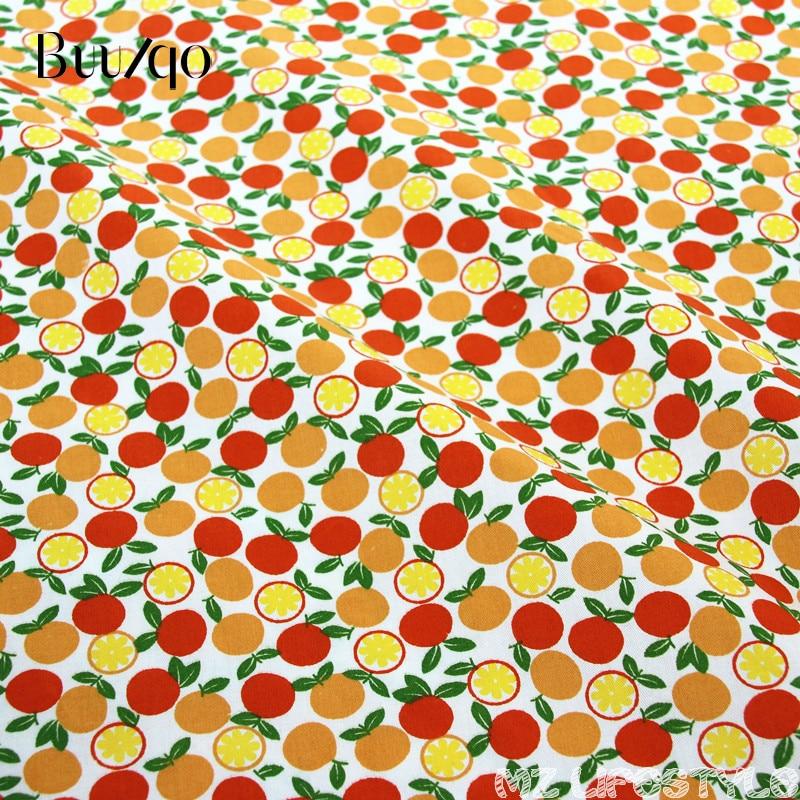 Buulqo 50cmX160cm fruit paradise patrón de dibujos animados 100% - Artes, artesanía y costura - foto 5