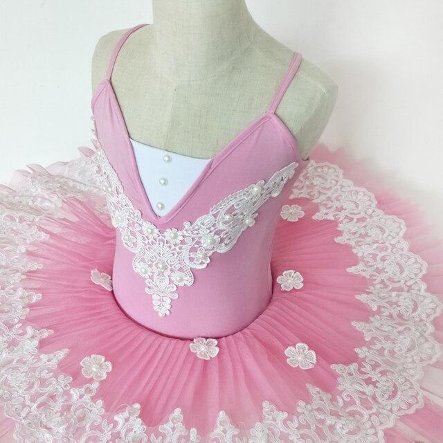 Women Professional Ballet Tutu Costume child Pink White Ballerina Performance Classical Ballet Tutu Dress girl 7 & Women Professional Ballet Tutu Costume child Pink White Ballerina ...