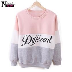 Fashion Different Print Hoodies Women Fleece Pullover Sweatshirt Women Casual Clothes Streetwear Harajuku Hoodie sudadera mujer 1