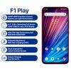 "UMIDIGI F1 Play Android 9.0 48MP+8MP+16MP Cameras 5150mAh 6GB RAM 64GB ROM 6.3"" FHD+ Helio P60 Global Version Smartphone Dual 4G 2"