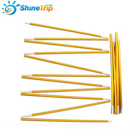 Shine Trip 2pcs Set Camping Tent Pole Aluminum Alloy Tent Rod Spare Replacement 8 5mm Tent
