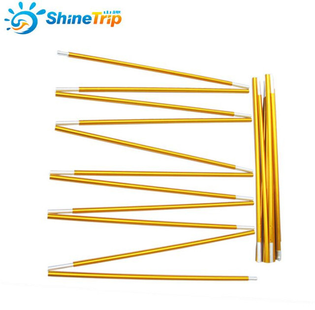 Shine Trip 2pcs/set C&ing Tent Pole Aluminum Alloy Tent Rod Spare Replacement 8.5mm  sc 1 st  AliExpress.com & Shine Trip 2pcs/set Camping Tent Pole Aluminum Alloy Tent Rod ...