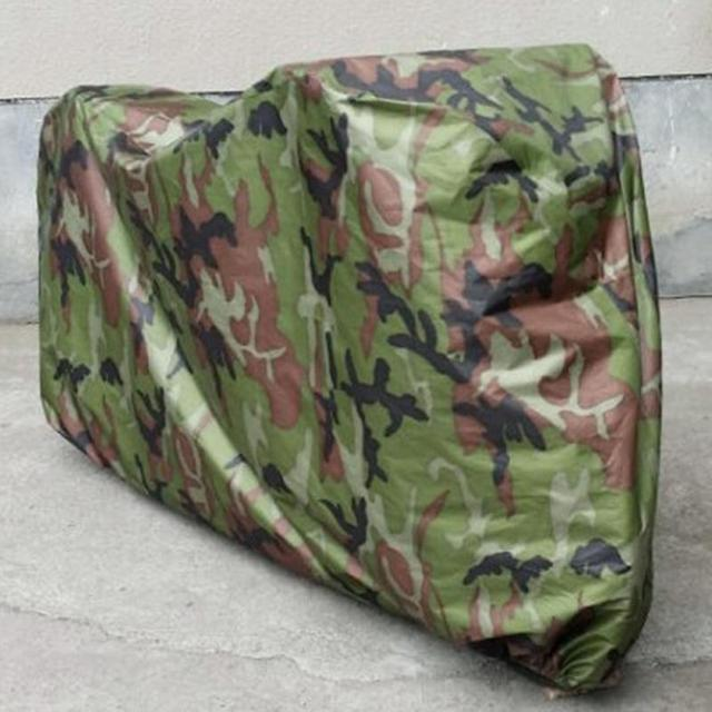 Camo Bike Cover 190T Extra Heavy Duty Outdoor Anti-UV Waterproof Bicycle Cover
