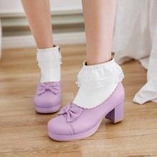 boots women ankle boots for women spring/autumn girl shoes fashion butterfly-not plus size 43 ladies shoes free shipping &7150-2
