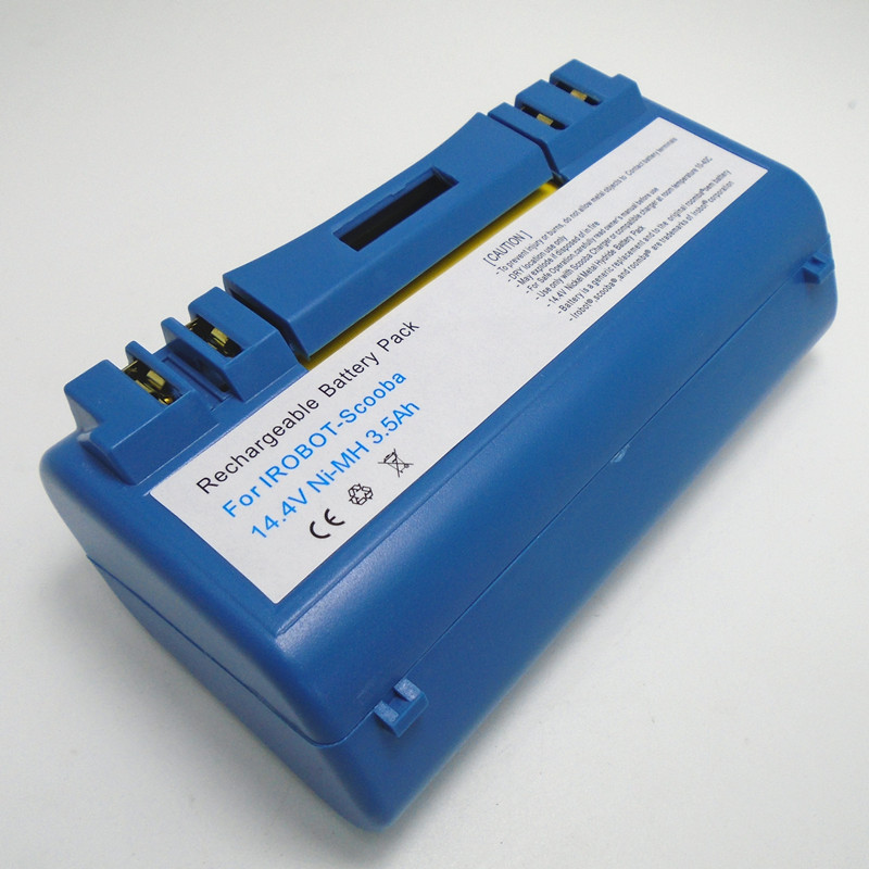 14.4V 3.5Ah Ni-MH Rechargeable Battery For iRobot Scooba Cleaner 330 340 350 380 5800 5900 6000 APS 14904 SP385-BAT SP5832 2x 12v 3 0ah ni mh rechargeable tools battery for hitachi eb1220hl eb1226hl eb1230hl eb1230x 322629 323226 324279 324360