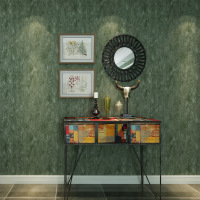 Beibehang Special Retro Plain Non Woven Wallpaper Dark Green Mottled Bedroom Living Room Dining Room Shop