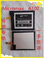 3.8V batteries Rechargeable Li ion Li polymer Built in lithium polymer battery for Micromax A107 1500mAh