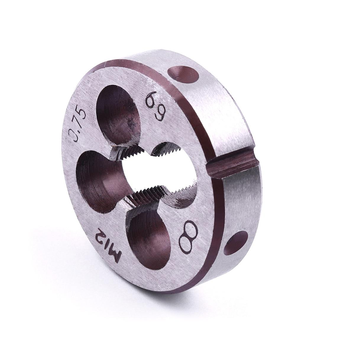 HSS Metric Thread Die M8*1mm 8mm x1.0mm Dies Threading Tools for Mold Machining