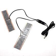 Водонепроницаемые 5 в USB нагревательные перчатки с электрическим подогревом стельки для ног теплые ботинки обувь зимние уличные лыжные стельки для утепления