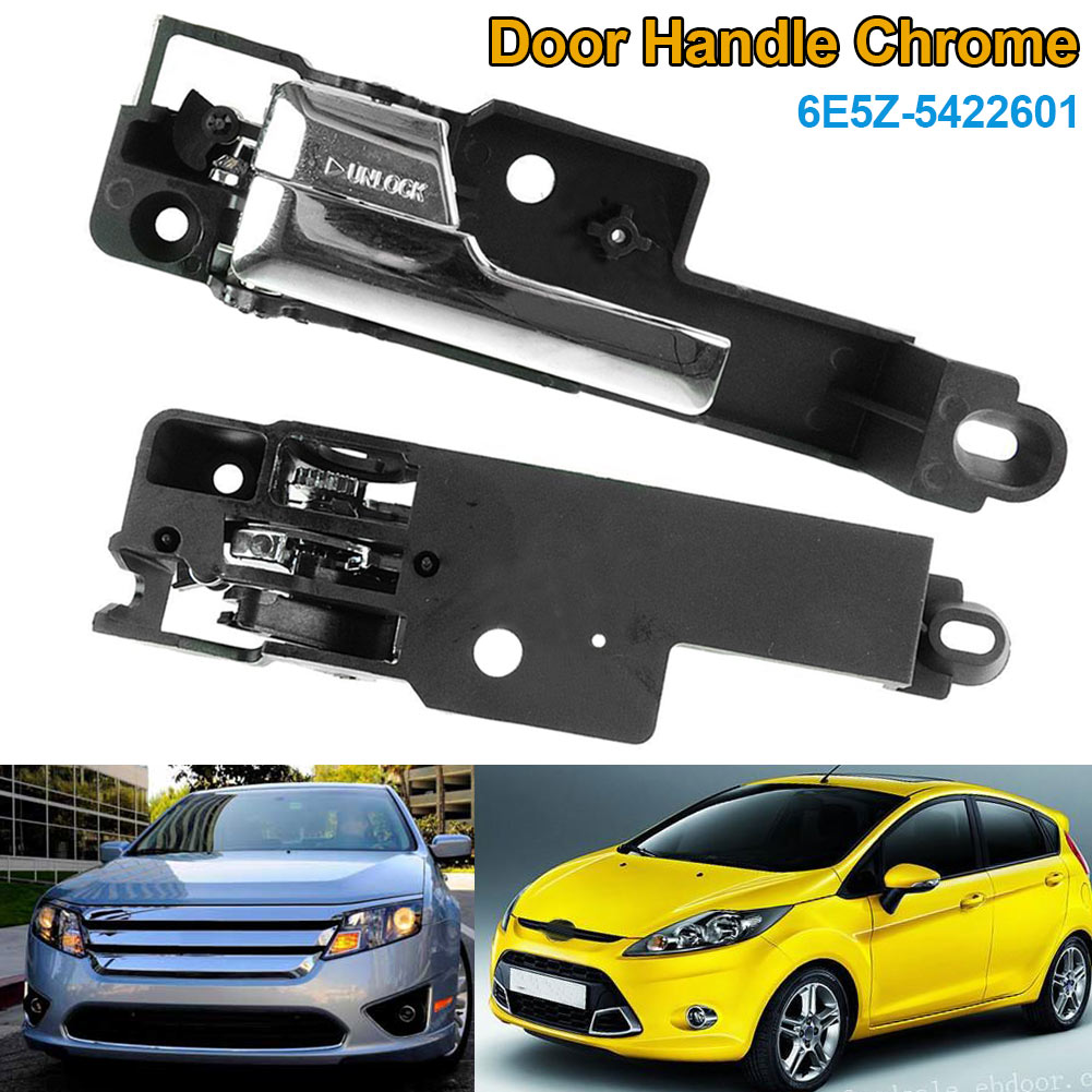 1pc Inside Interior Door Handle Chrome Front Left Driver Side for 06-12 Fusion Milan CSL2017