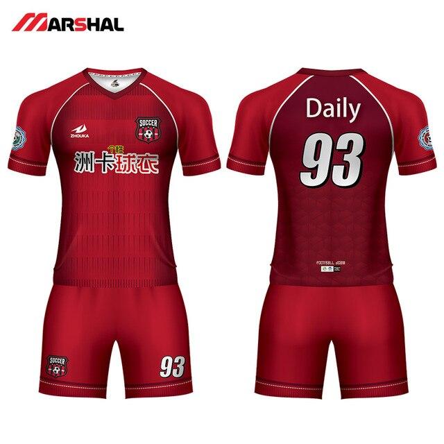 81c0fe7be Professionalized design for team practice soccer uniforms custom sports jerseys  plain kids football kits for sale