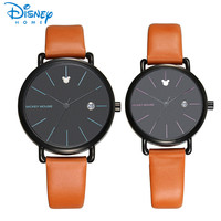 Disney Women Watches 2017 Brand Luxury Quartz Watch Man Mickey Mouse Fashion Casual Couple Watches For