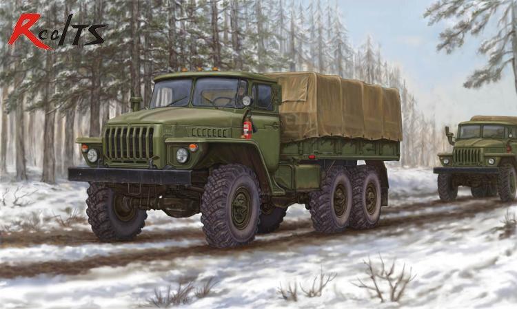 RealTS Trumpeter Model 01012 1/35 Russian URAL-4320 Truck Plastic Model Kit