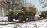RealTS Trumpeter model 01012 1/35 Russische URAL-4320 Truck plastic model kit