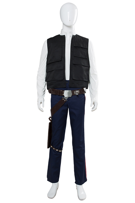 New Star Wars A New Hope Han Solo Cosplay Costume Props Belt Holster for Adult Men