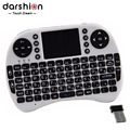 HEBREW keyboard  Mini keyboard for PAD and mobile phone  wireless USB 2.4G keyboard  lithium battery