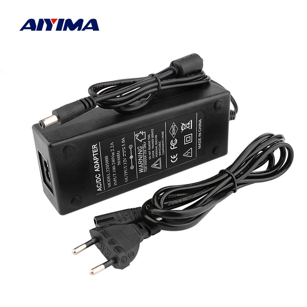 Aiyima Speaker Penguat Daya Adaptor Daya 32V 5A DC Power Supply untuk TPA3255 Digital Bluetooth Stereo Audio Amplifier
