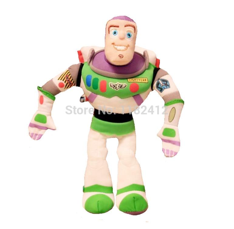 Original Toy Story Buzz Lightyear Robot Plush Figure 21cm Kids Toys for Children Boys Gifts toy story bunny toys