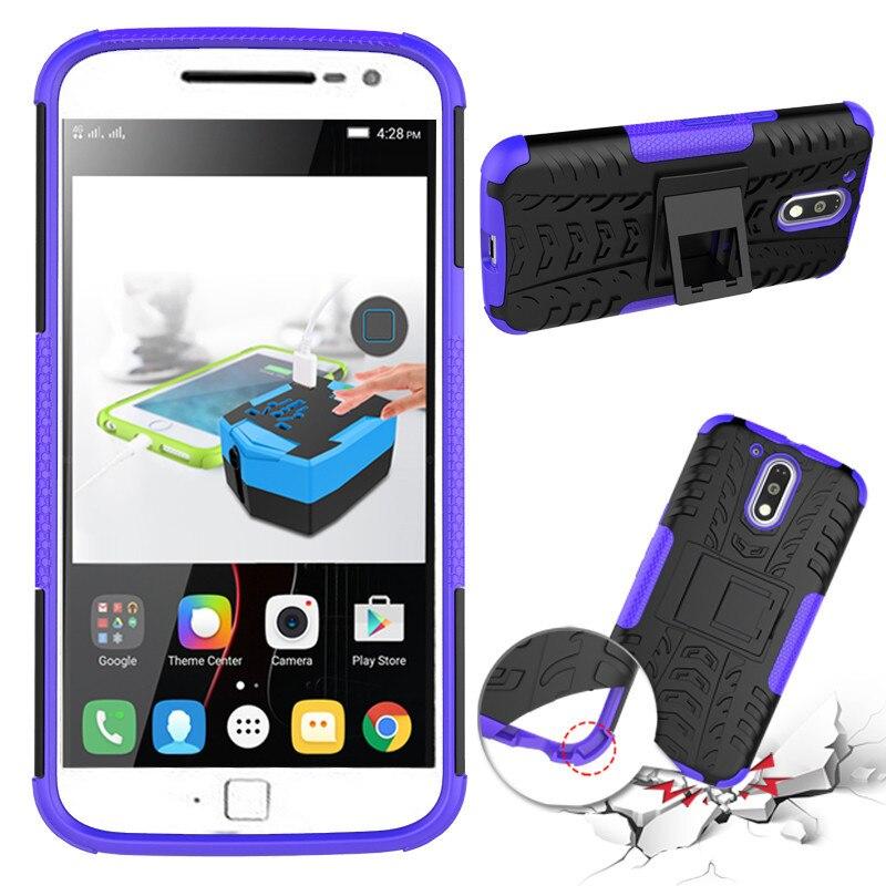 Nueva funda de teléfono antideslizante de doble capa con soporte - Accesorios y repuestos para celulares - foto 5