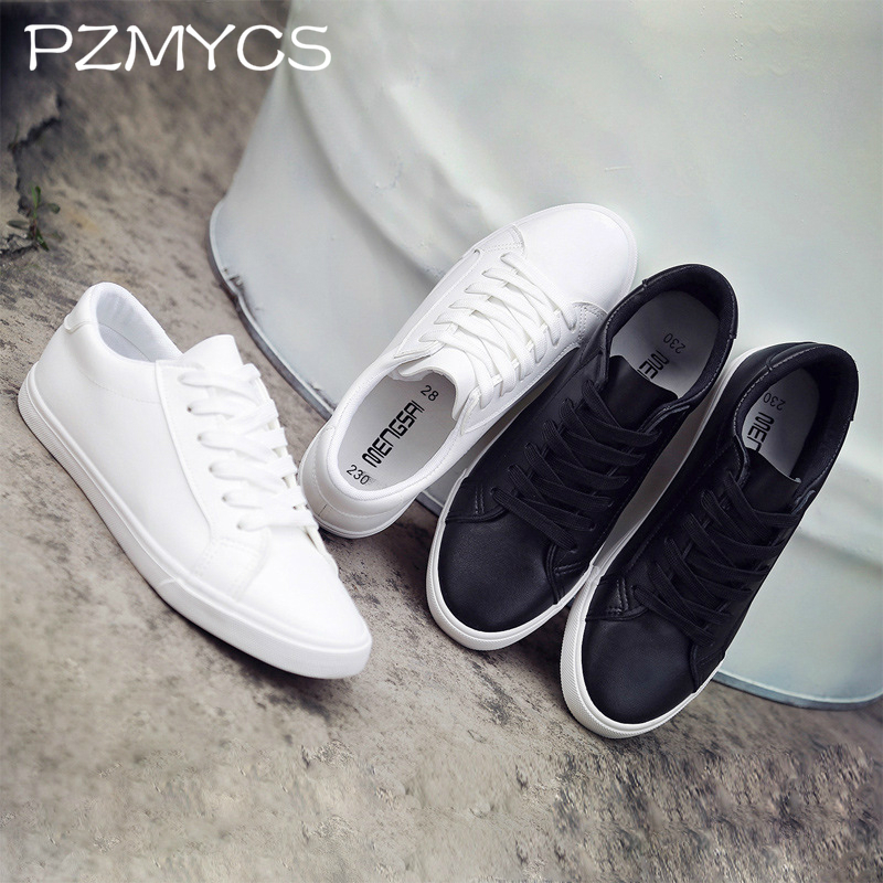 PZMYCS Women Shoes 2018 fashion summer casual Ladies Shoes canvas hollow breathable platform flat Shoes woman sneakers