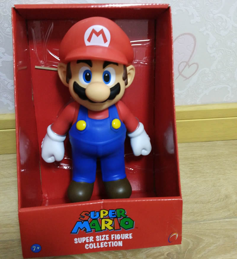Free Shipping 23cm=9inch Super Mario PVC Action Figure Doll Good Quality Mario PVC Model Decoration Toy For Birthday Gift stock sale pvc dota crystal maide game doll action figure model toy for christmas gift 22cm free shipping