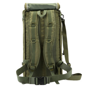 Image 4 - Men Travel Backpack 50L Laptop Backpack Large Capacity Teenager Male Mochila Waterproof Nylon Military Rucksack