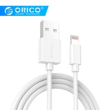 ORICO LTG Lighting USB Cable For iPhone Smart Charging Data Sync Cable 1M USB Cable for iPad